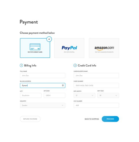 Payment Options For Website Design