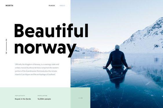 Bold Fonts Used In Website Design